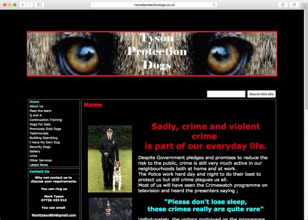 tyson-dog-website